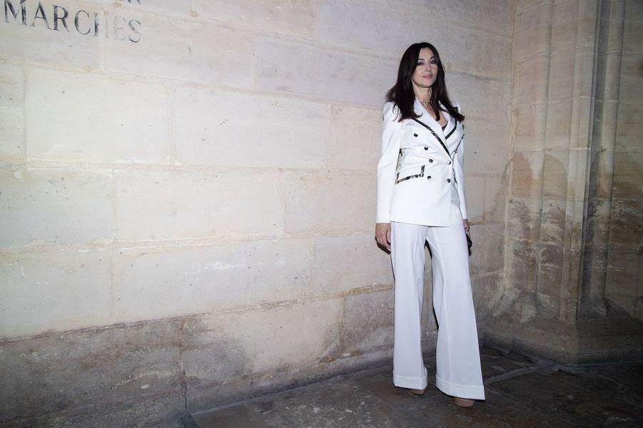 """Monica Belluccià la soirée de lancement de la nouvelle création Cartier """"Clash De Cartier"""" à Paris le 10 avril 2019"""