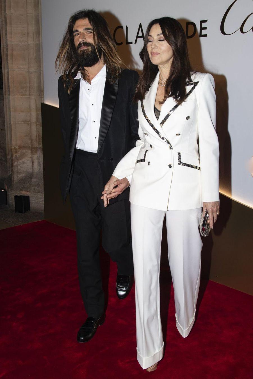 """Nicolas Lefebvre et Monica Belluccià la soirée de lancement de la nouvelle création Cartier """"Clash De Cartier"""" à Paris le 10 avril 2019"""