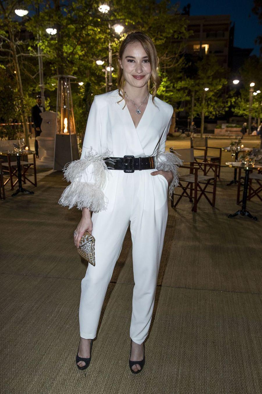 Déborah Françoisà la soirée organisée par Dior et «Vogue» au restaurantFred l'écaillerlors du 72e Festival de Cannes le 15 mai 2019