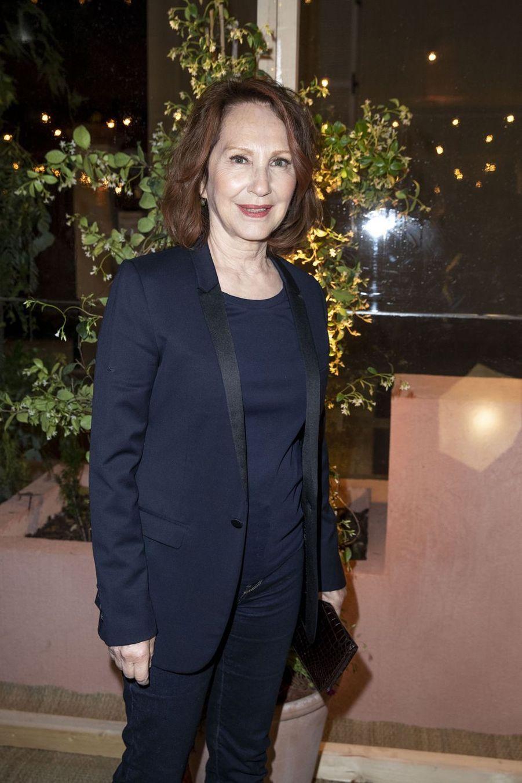 Nathalie Bayeà la soirée organisée par Dior et «Vogue» au restaurantFred l'écaillerlors du 72e Festival de Cannes le 15 mai 2019