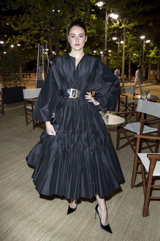 Shailene Woodleyà la soirée organisée par Dior et «Vogue» au restaurantFred l'écaillerlors du 72e Festival de Cannes le 15 mai 2019