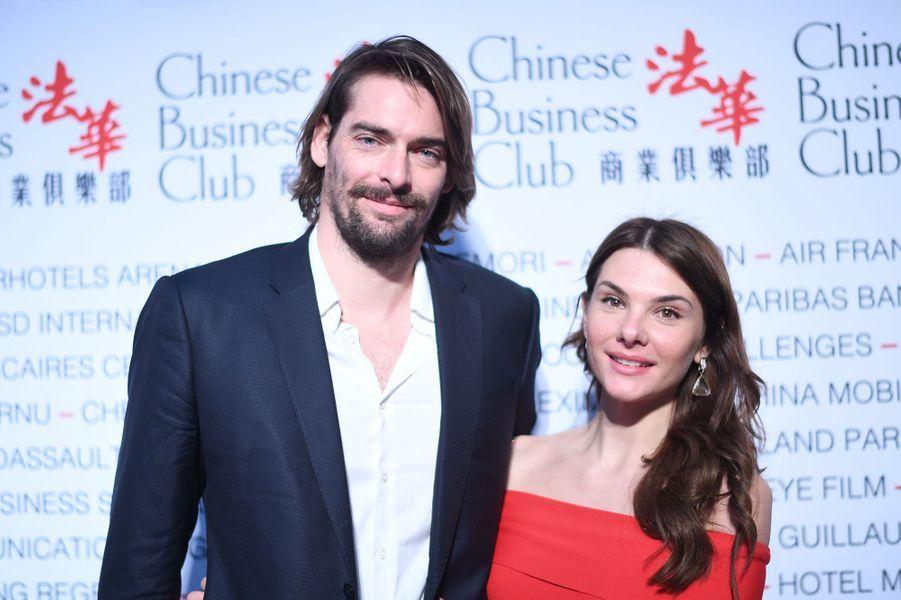 Alice Detollenaere et Camille Lacourtà la 5ème édition du Chinese Business Club à l'occasion de la journée internationales des droits des femmes à Paris le 9 mars 2020