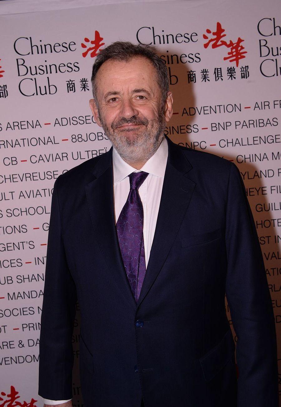 Guillaume Sarkozyà la 5ème édition du Chinese Business Club à l'occasion de la journée internationales des droits des femmes à Paris le 9 mars 2020