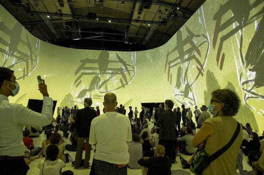 Illustration del'exposition Jam Capsule à la Villette à Paris le 22 juin 2020