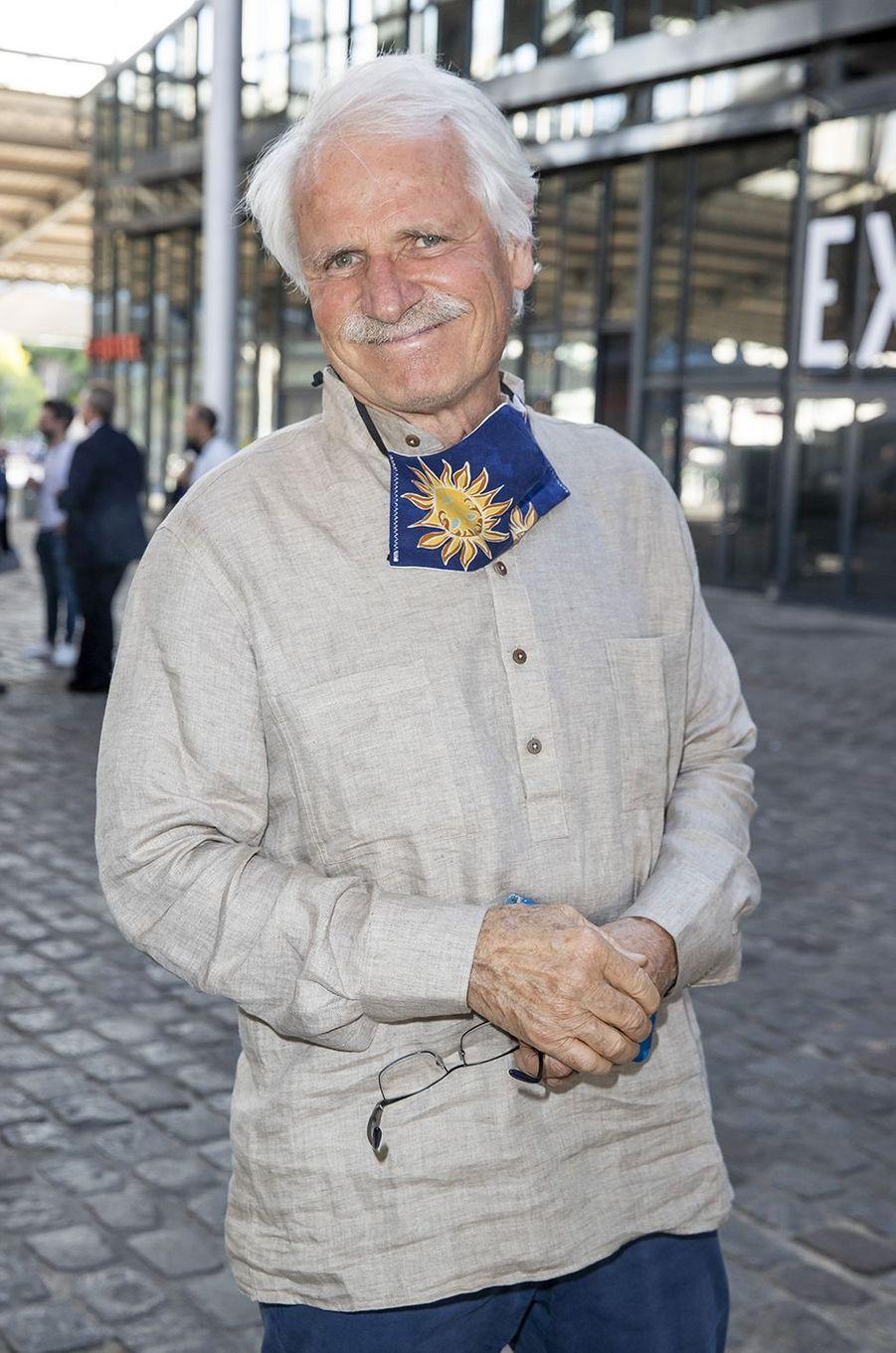 Yann Arthus-Bertrandà l'exposition Jam Capsule à la Villette à Paris le 22 juin 2020