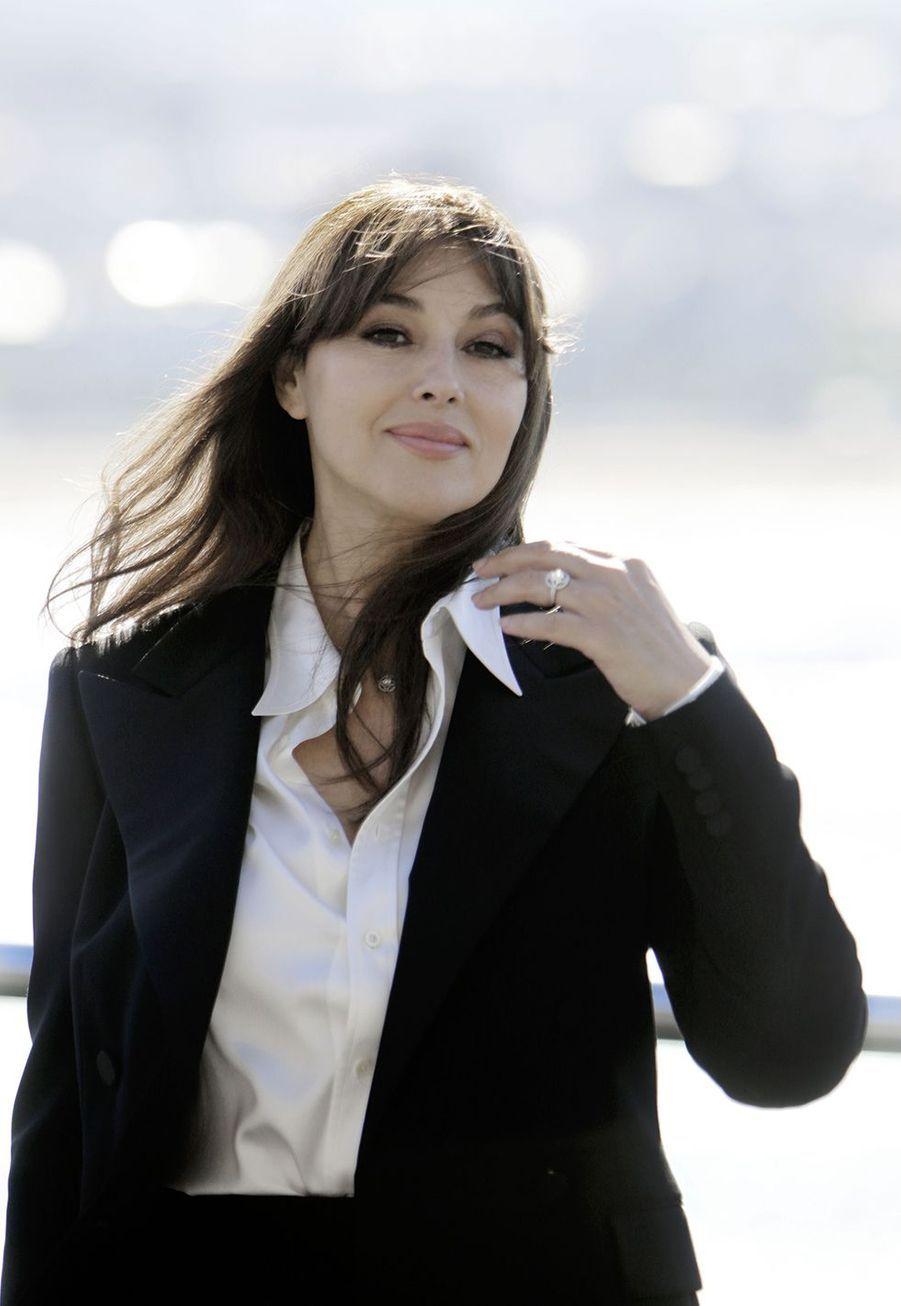 Monica Bellucci au Festival du film deSaint-Sébastien en septembre 2017