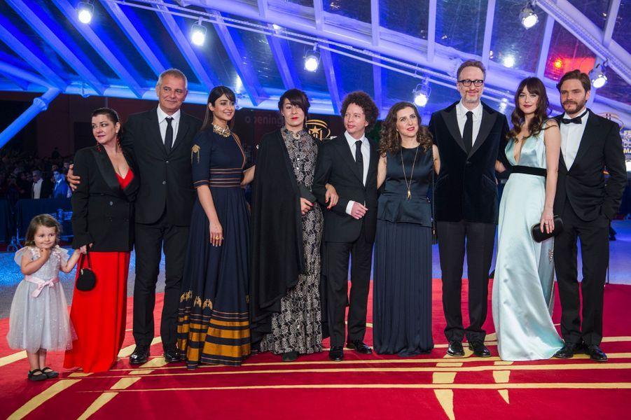 Les membres du jury du 17ème Festival du film de Marrakech