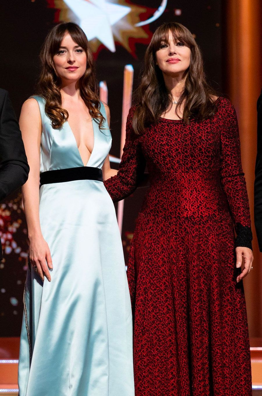 Dakota Johnson et Monica Bellucci