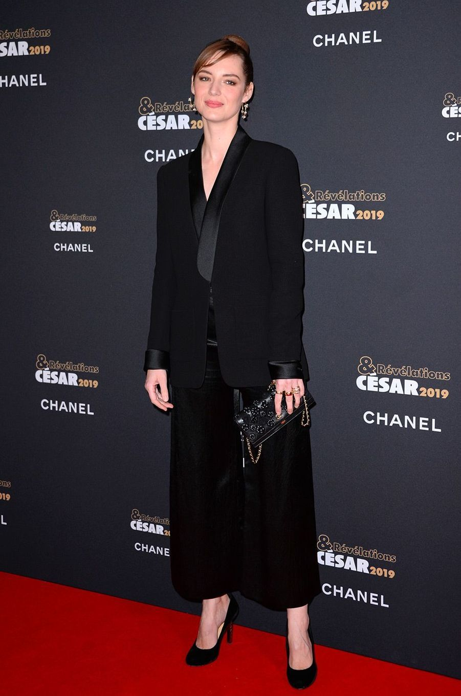 Louise Bourgoin au Petit Palais pour la soirée des Révélations des César, lundi 14 janvier
