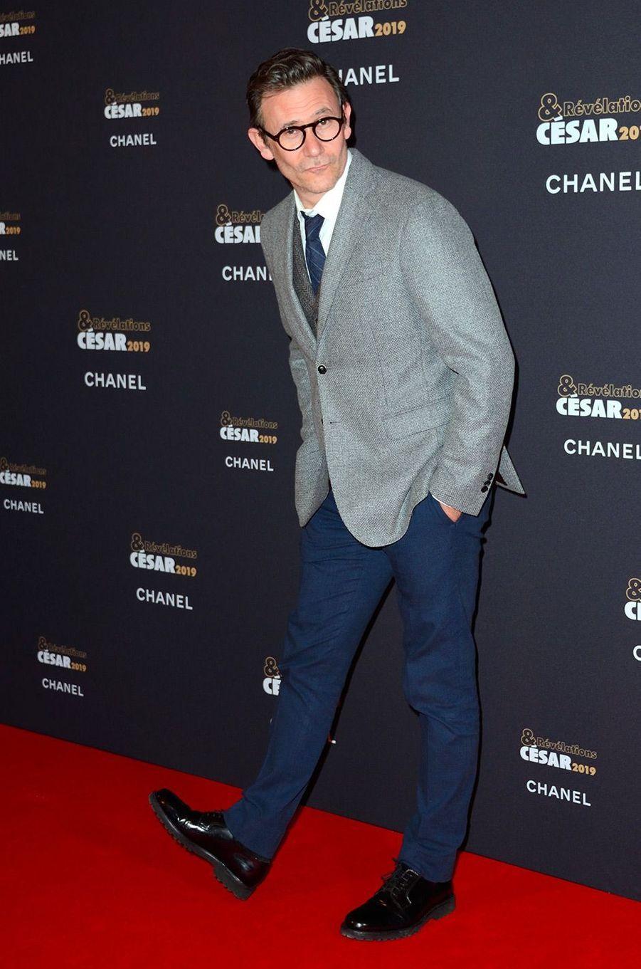 Michel Hazanavicius au Petit Palais pour la soirée des Révélations des César, lundi 14 janvier