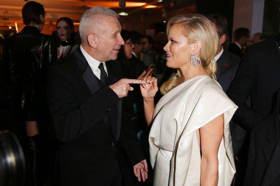 Jean-Paul Gaultier et Pamela Anderson