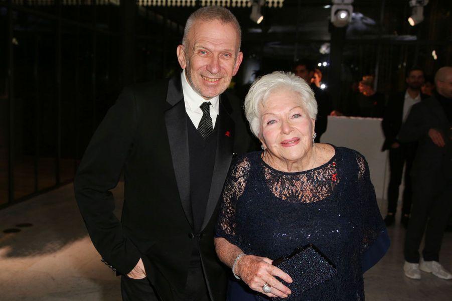 Jean-Paul Gaultier et Line Renaud