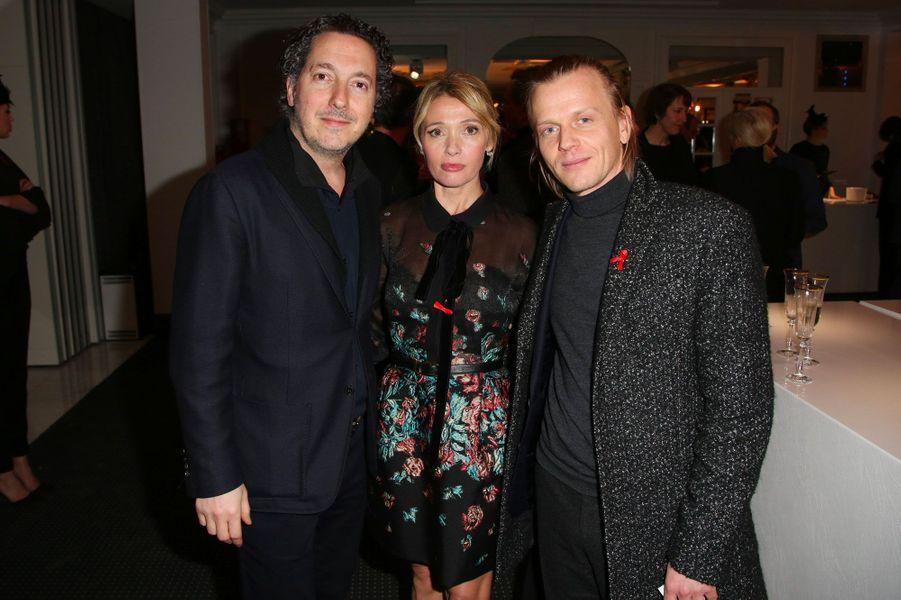 Guillaume Gallienne, Anne Marvin et Alex Lutz