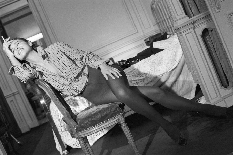 Monica Bellucci en 1985