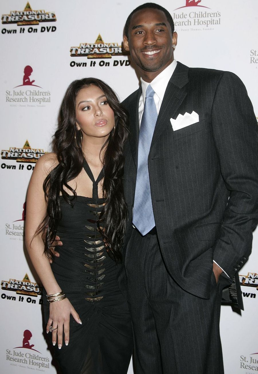 Vanessa et Kobe Bryant lors d'un événement à Beverly Hills le 1er mai 2005