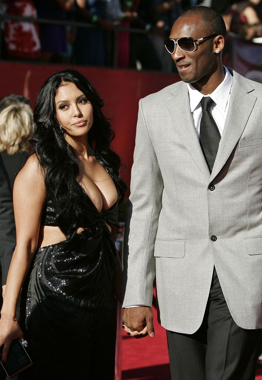 Vanessa et Kobe Bryant lors des ESPY Awards à Los Angeles le 15 juillet 2009