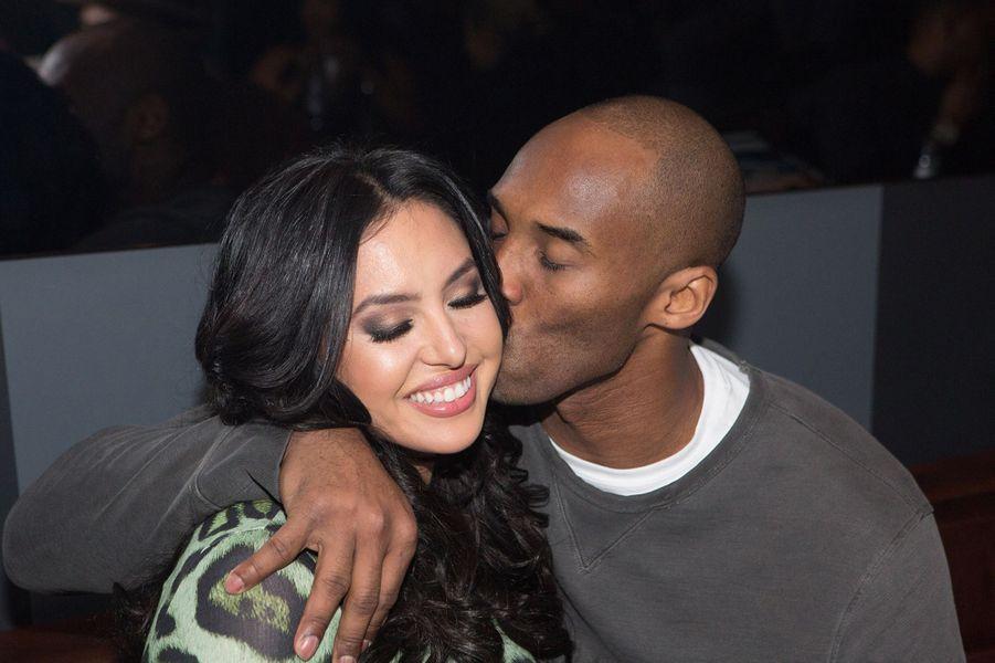 Vanessa et Kobe Bryant lors d'une soirée à Toronto le 13 février 2016