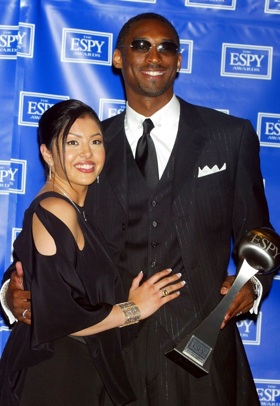 Vanessa et Kobe Bryantlors des ESPY Awards à Hollywood le 10 juillet 2002