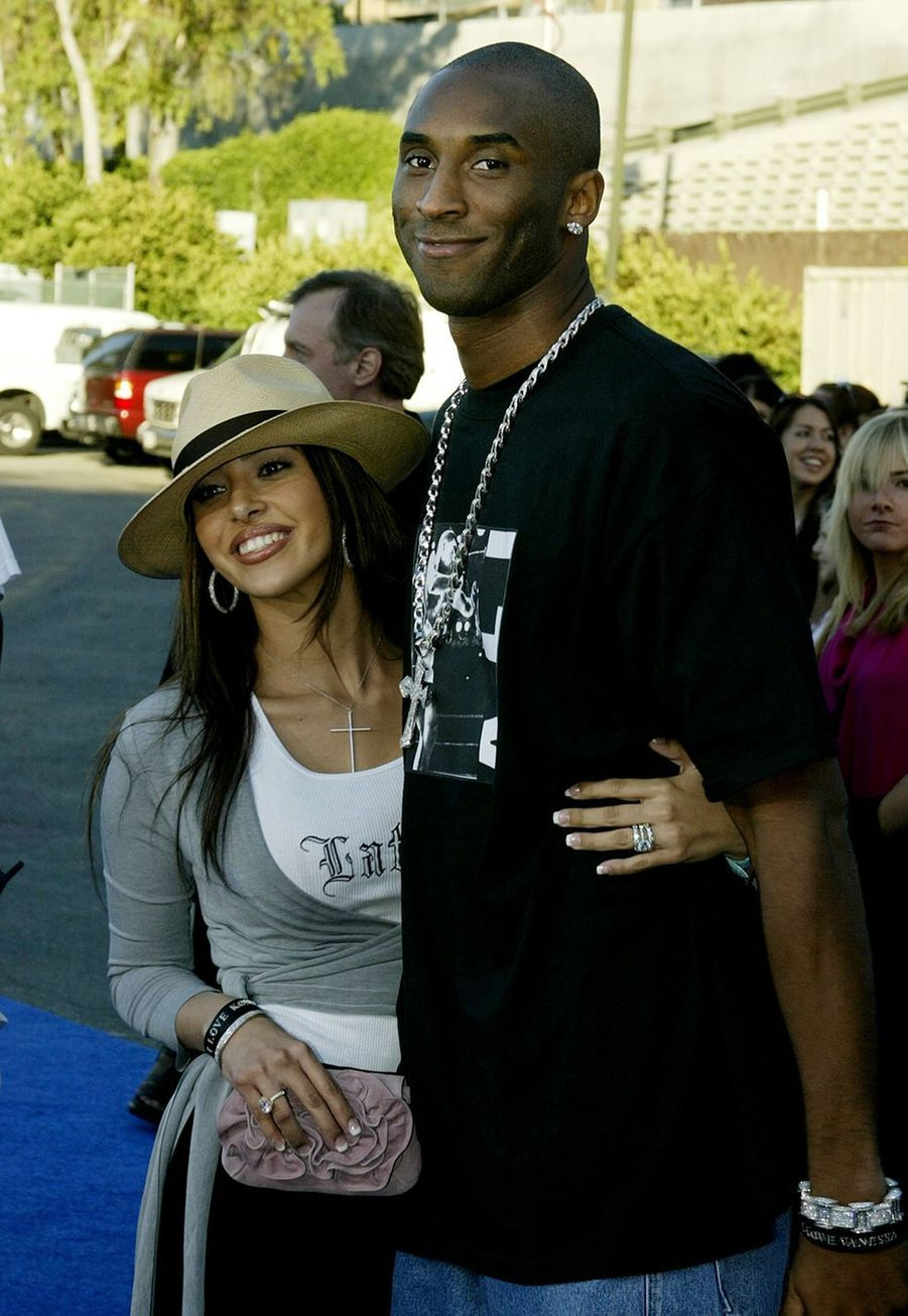 Vanessa et Kobe Bryant aux Teen Choice Awards à Los Angeles le 2 août 2003