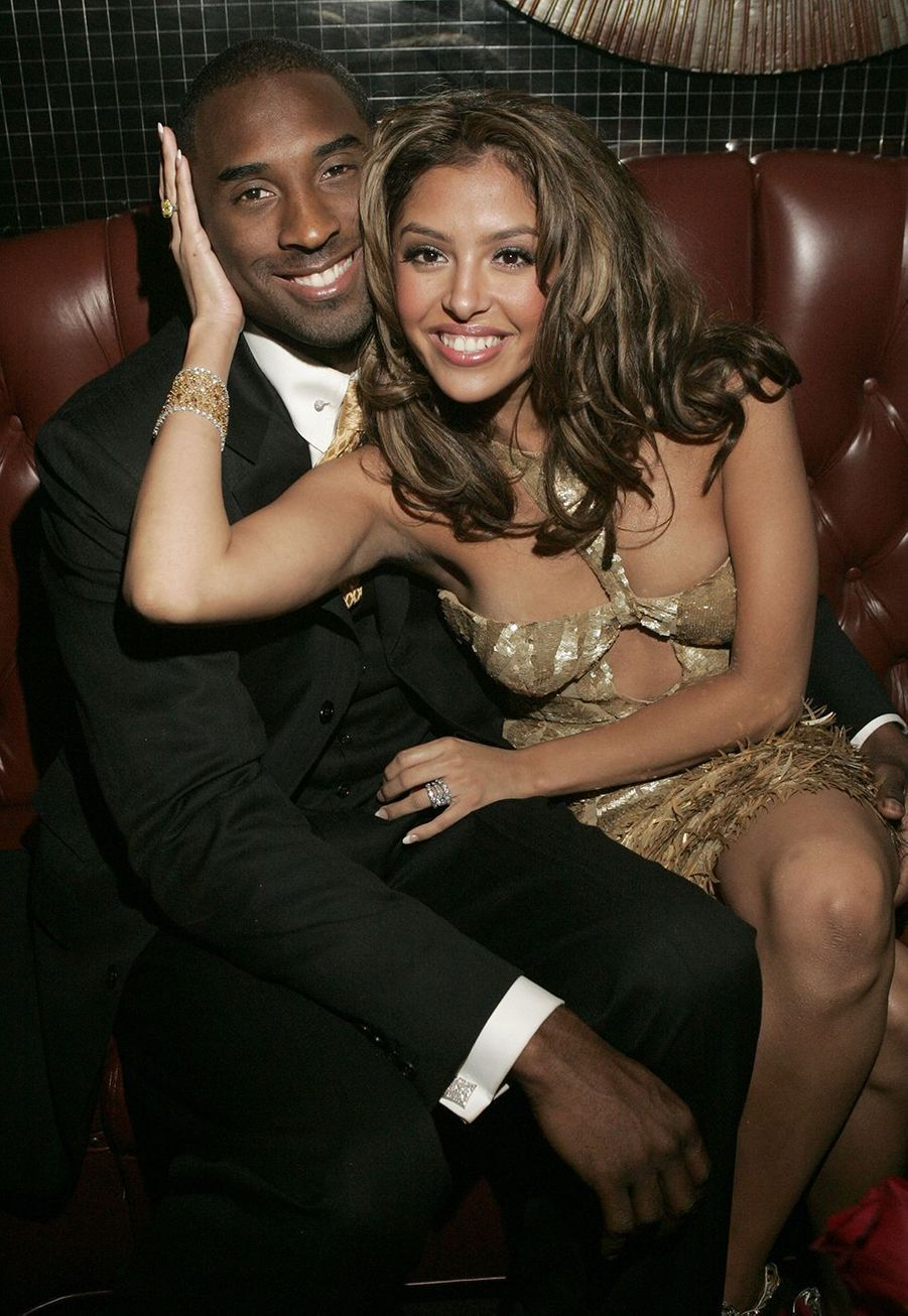 Kobe et Vanessa Bryant à l'after-party des World Music Awards à Las Vegas le 15 septembre 2004
