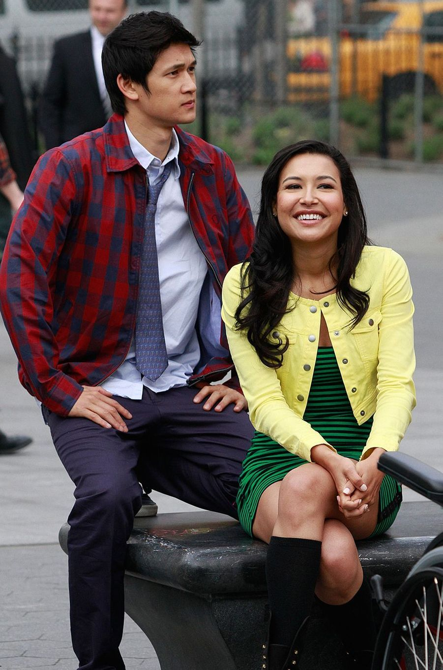 Harry Shum Jr et Naya Rivera