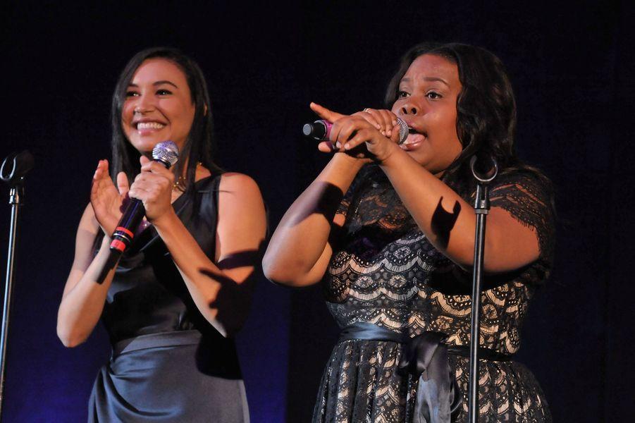 Naya Rivera et Amber Riley