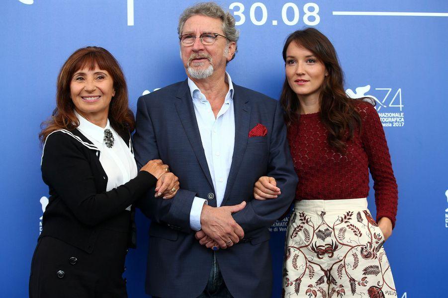 Ariane Ascaride, Robert Guediguian et Anaïs Demoustier