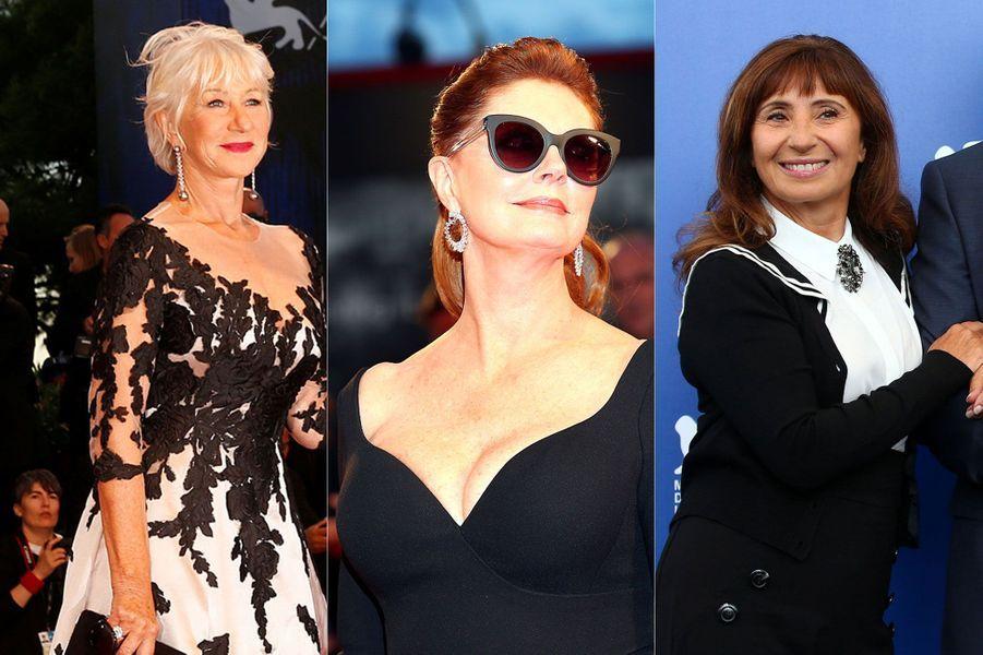 Helen Mirren, Susan Sarandon et Ariane Ascaride