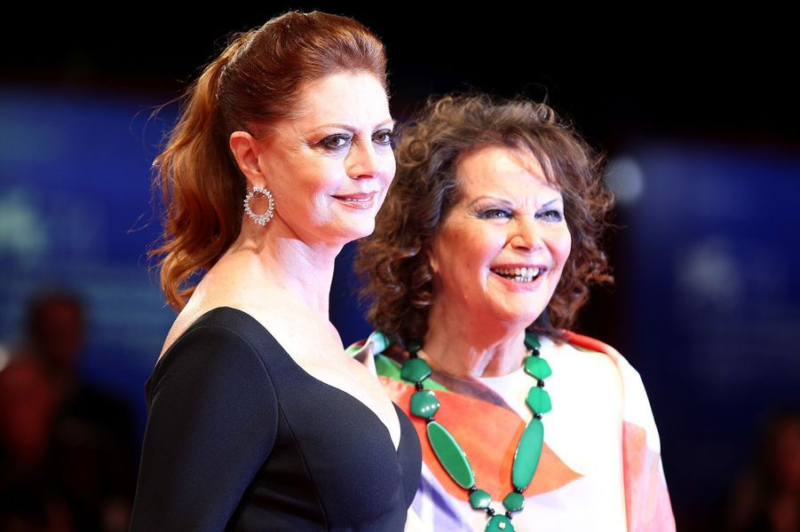Susan Sarandon et Claudia Cardinale