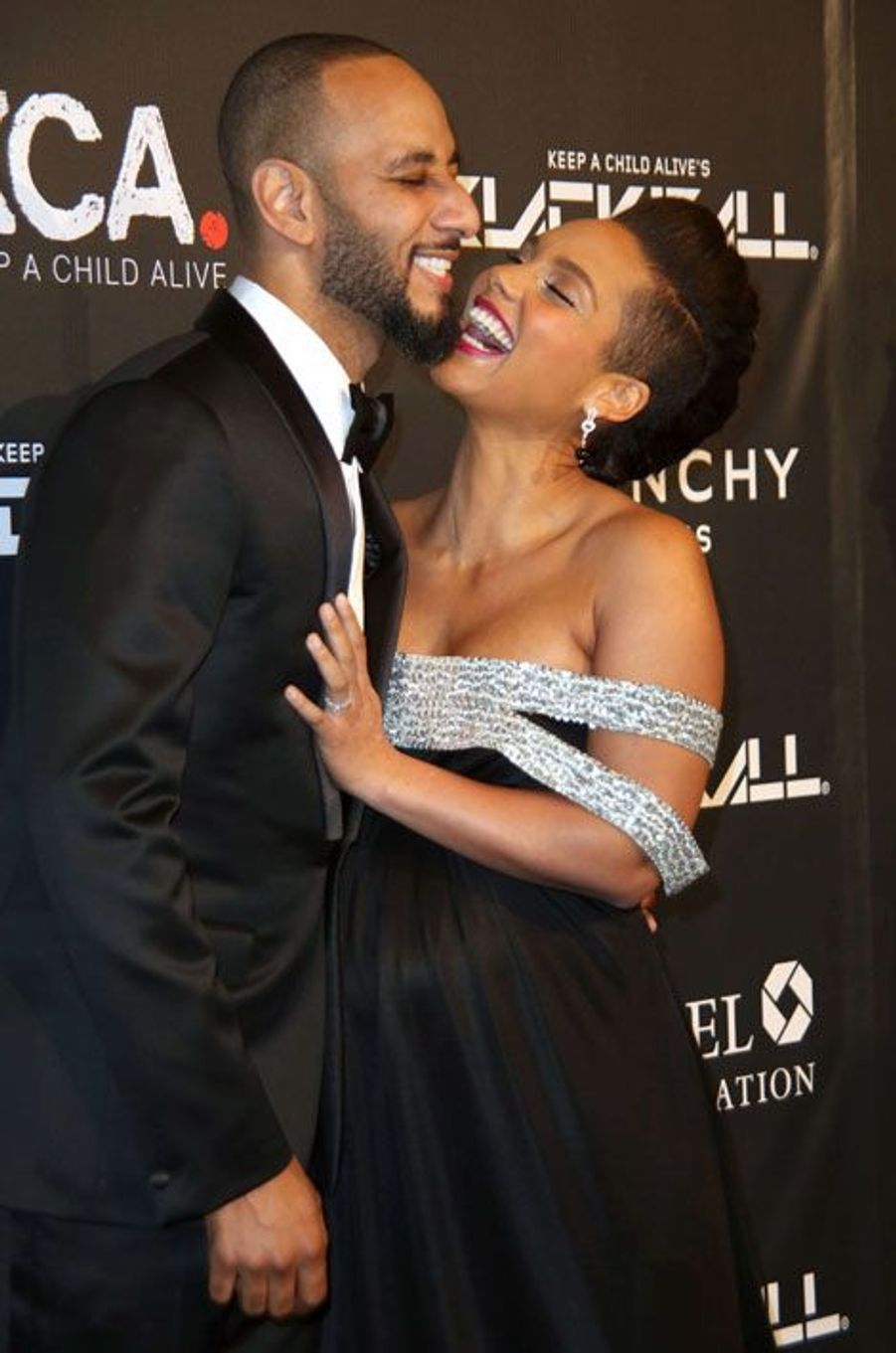 Alicia Keys et Swizz Beatz au Black Ball à New York, le 30 octobre 2014
