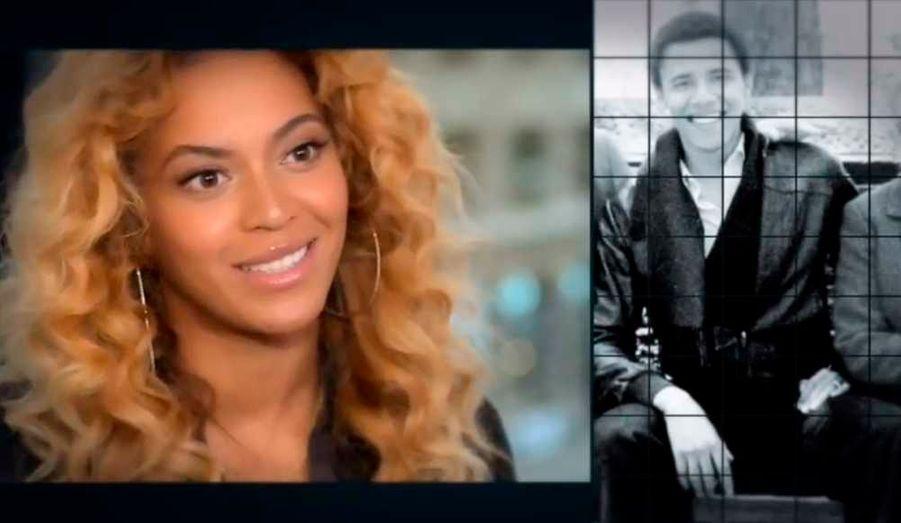 """En octobre, Beyoncé, Jennifer Lopez, Eva Longoria, Olivia Wilde, Sheryl Crow, Ashley Judd, Julianne Moore, Kerry Washington, Jane Lynch et encore d'autres stars féminines, se sont unies dans une vidéo en faveur de Barack Obama. La chanteuse Beyoncé, maman d'une petite Blue Ivy d'aujourd'hui 1 an, expliquait soutenir le président démocrate pour """"l'avenir de [sa] fille""""."""
