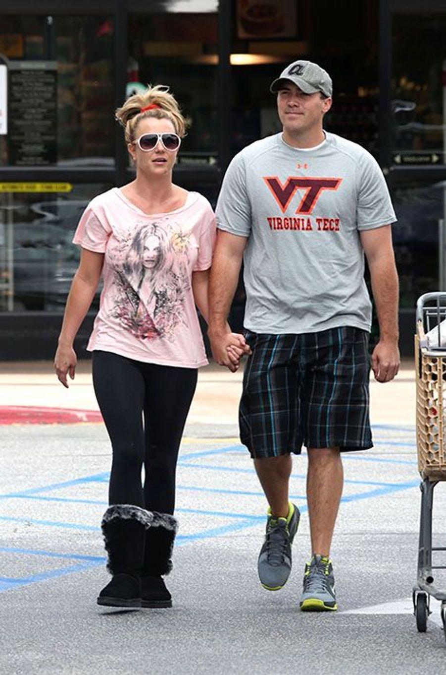 Britney Spears et David Lucado en avril 2013
