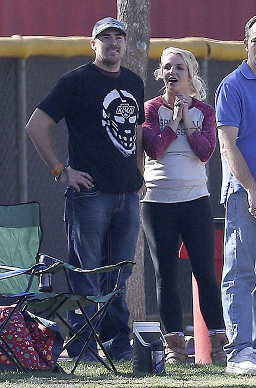 Britney Spears et David Lucado en novembre 2013