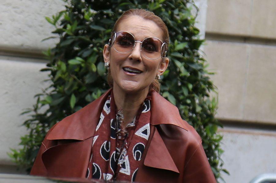 Céline Dion à Paris, le 19 juin 2016