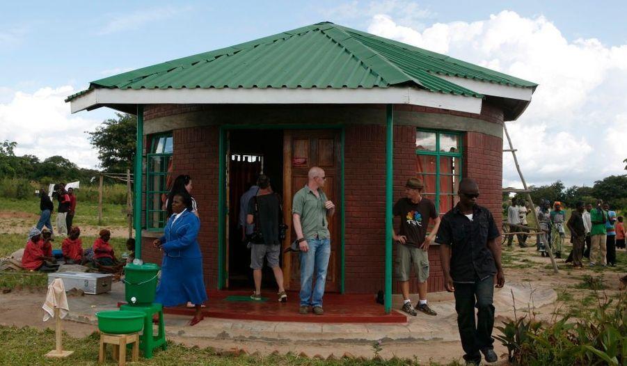 L'école de Namite que Madonna finance.