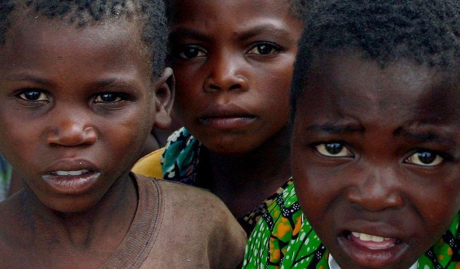 Les élèves de l'école de Namite.