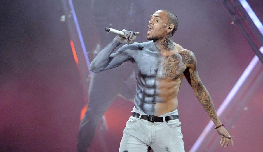 Chris Brown fait le show