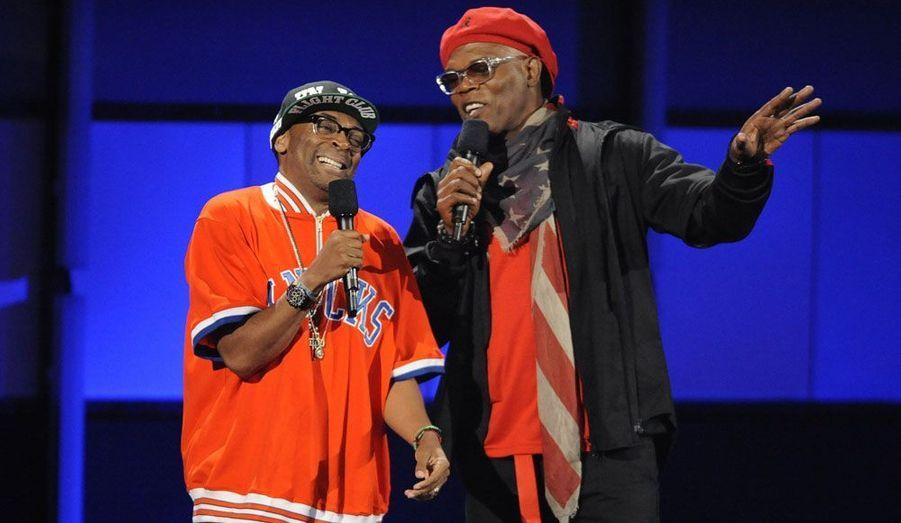 Spike Lee et Samuel L. Jackson ont présenté la soirée.