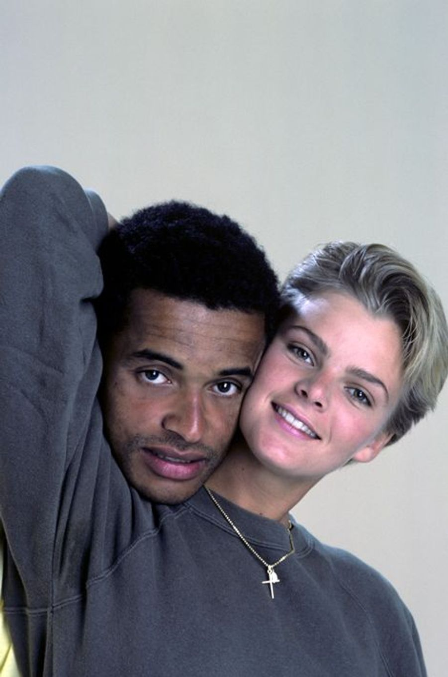 Au printemps 1984 avec son épouse Cécilia Rhode