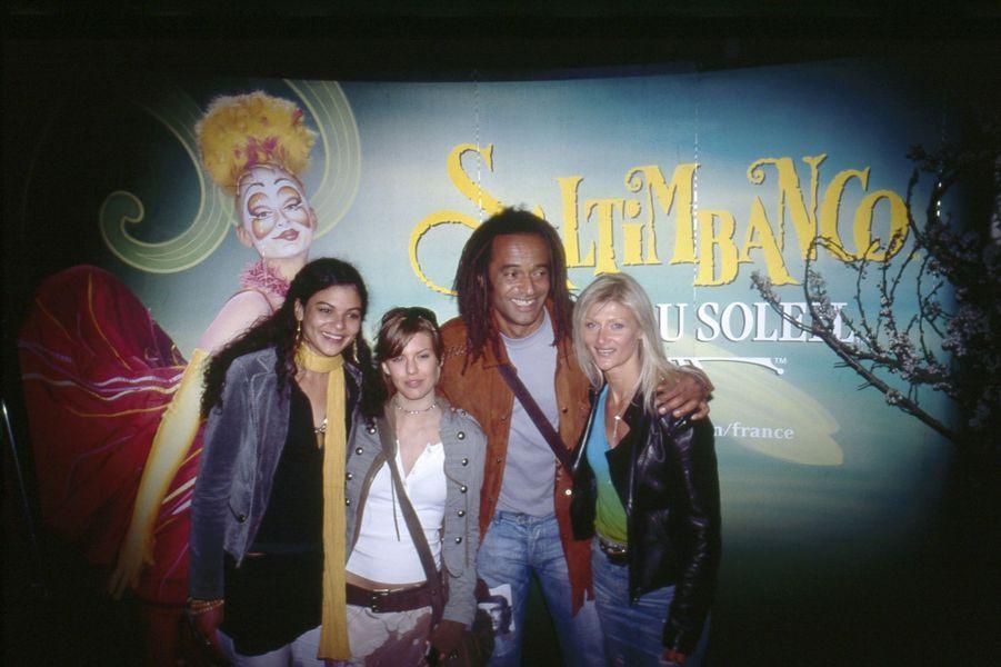 Avec Yelena et Isabelle Camus au printemps 2005