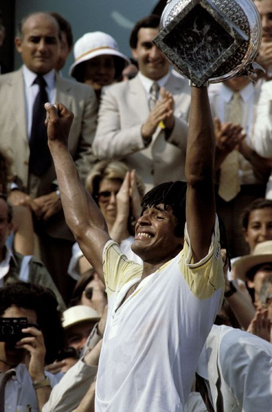 Victoire à Roland Garros en 1983