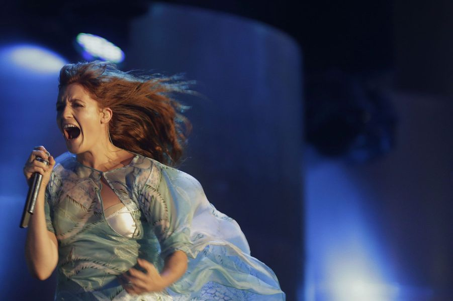 Florence Welch, du groupe Florence and the Machine