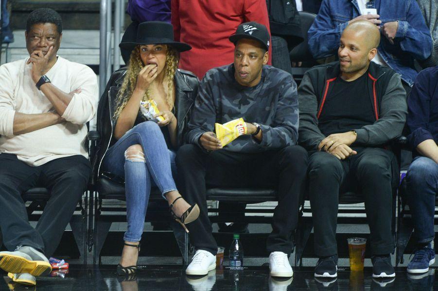 Beyoncé et Jay Z à Los Angeles le 2 mars 2016