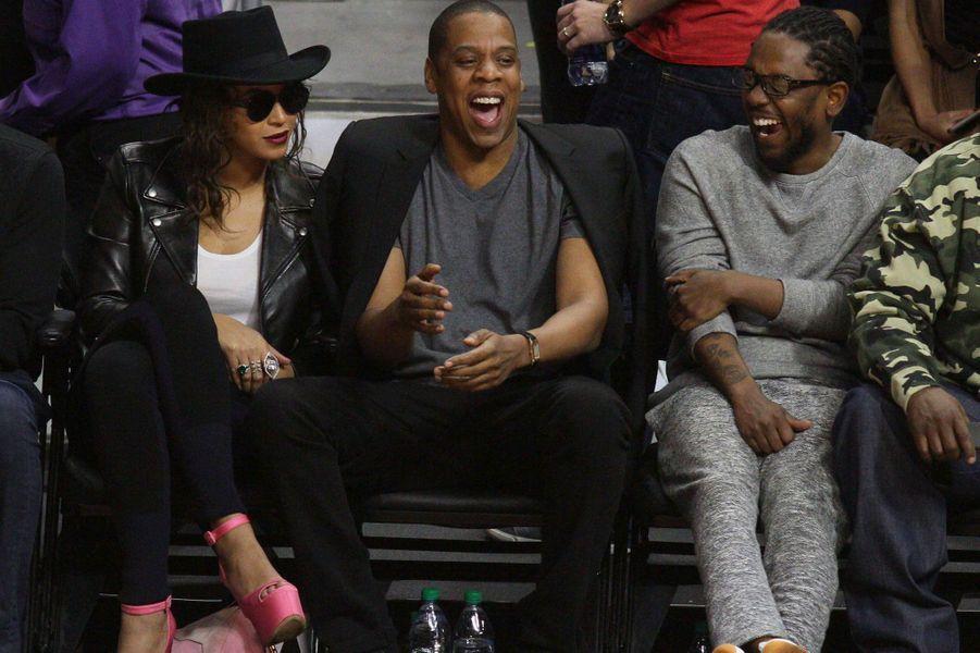 Beyoncé et Jay Z et Kendrick Lamar