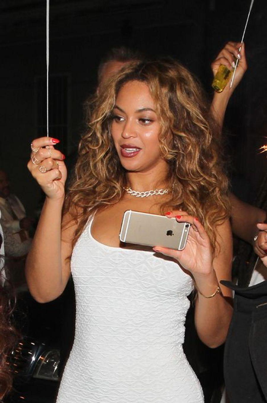 Beyoncé à la Nouvelle-Orléans le 16 novembre 2014