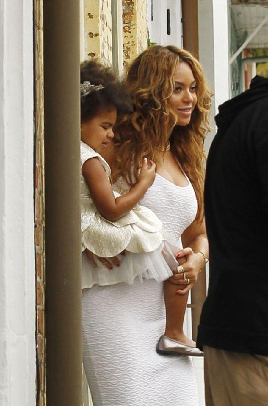 Beyoncé et Blue Ivy à la Nouvelle-Orléans le 16 novembre 2014