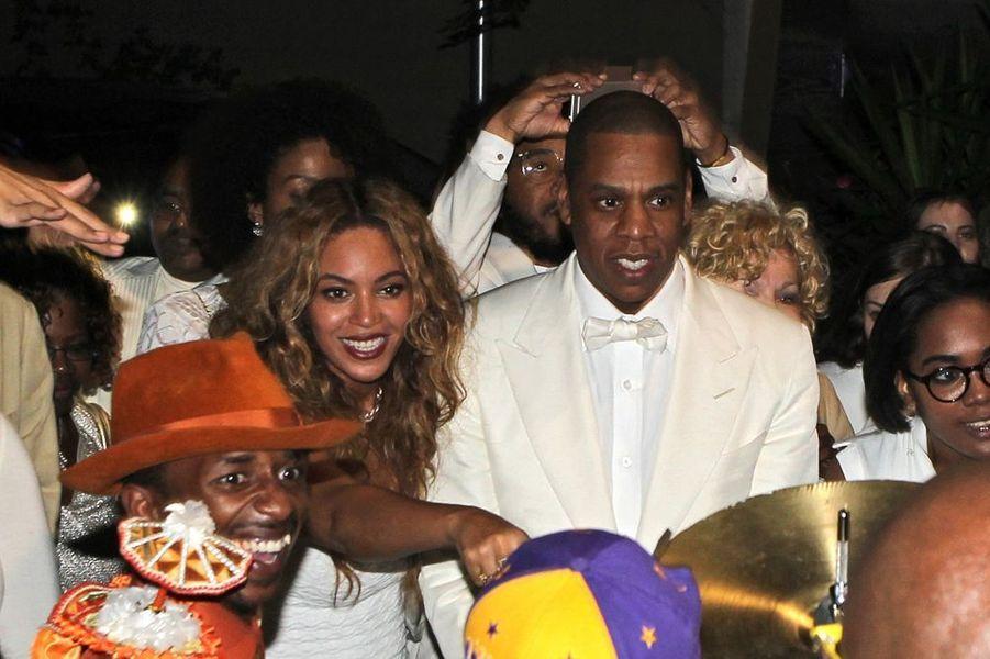 Beyoncé et Jay Z à la Nouvelle-Orléans le 16 novembre 2014