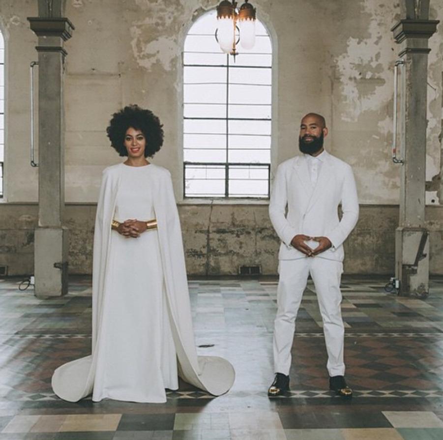 Solange Knowles et Alan Ferguson à la Nouvelle-Orléans le 16 novembre 2014