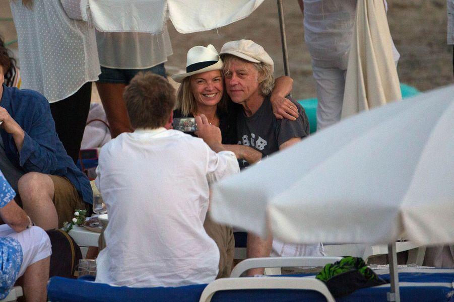 Bob Geldof à Rayol-Canadel-sur-Mer dimanche 20 septembre 2015