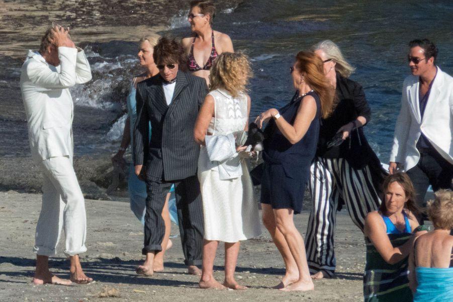 Bob Geldof et Jeanne Marine se sont mariés à Rayol-Canadel-sur-Mer samedi 19 septembre 2015